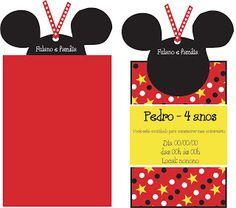 Dona Coruja Festas Personalizadas: Idéias para festa tema Mickey
