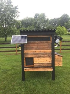 Man Builds Chicken Coop That Automates All His Chores.b #chickencoopdiy