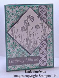 DSC #079 Serene Silhouettes Linda K's Stampin' Page
