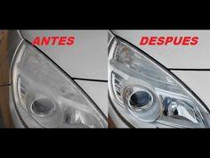 LIMPIAR FAROS OPACOS DEL COCHE - CLEAN CAR HEADLIGHTS OPAQUE