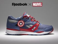 Reebok x Marvel = Shoes Up!