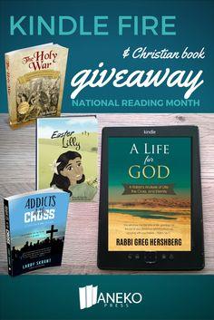 Kindle Fire and Christian Book Giveaway via @ellenblogs
