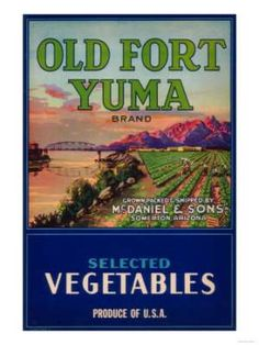 Vintage photos of Yuma Arizona