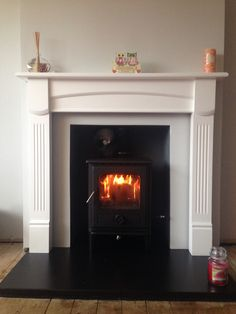 Fire surround Fire Surround, Fireplaces, Living Room, Home Decor, Fireplace Set, Fire Places, Decoration Home, Room Decor, Home Living Room