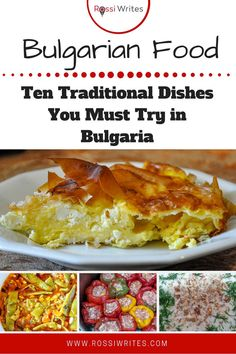 Bulgarian Food – Ten Traditional Dishes You Must Try in Bulgaria - Rossi Writes - Travel Tips for Italy and Europe - macedonian food Filo Pastry Pie, Bulgaria Food, Great Recipes, Dinner Recipes, Macedonian Food, Bulgarian Recipes, Food Stamps, Traveling By Yourself, Cooking Recipes