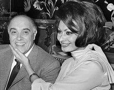Sophia Loren and Carlo Ponti - sophia-loren Photo