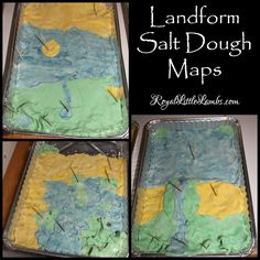 8 best Salt dough map images on Pinterest | Virginia studies, Salt ...