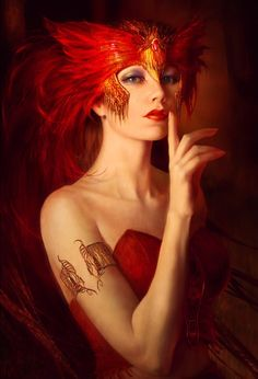 91c91c630a Phoenix Queen in Polish mythology