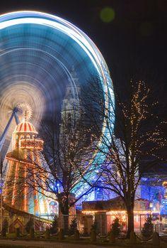 Winter Wonderland - Cardiff - Wales - UK (von wentloog)