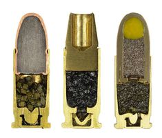 Fascinating Photos of Cross-Sections of Bullets