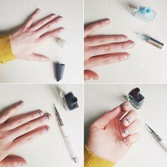 Evil Eye Nail Art | DIY