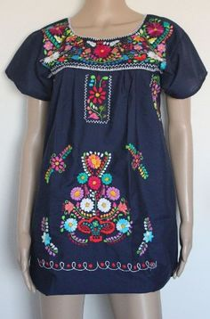 Embroidered Mexican Peasant Half Mini Short Dress Tunic (Navy size X-large) Lily Cruz,http://www.amazon.com/dp/B00FN7PFNC/ref=cm_sw_r_pi_dp_dEnmtb0WT53HR1XF