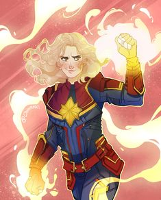 "dommnics: "" Just in time for the new Captain Marvel trailer today, here's a little something. :) I'll bite… that footage looked pretty dope. Marvel Comics, Marvel Heroines, Marvel Fan, Cosmic Comics, Thor, Loki, Ghost Rider, Doctor Strange, Marvel Universe"