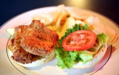 Enjoy the delicately breaded and seasoned walleye sandwich at Parkview Nite Club, (1261 West 58th St., Cleveland, 216-961-1341, parkviewniteclub.com).