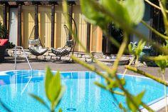 Impressionen aus unserem Wellnessgarten zu #Ostern #Pool #HappyEaster #Frühling #Spring #senftenberg #wellness #hotel