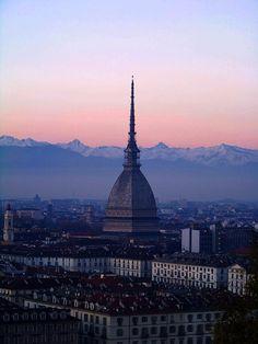"""* Turim, Itália * Região do Piemonte. """"Mole Antonelliana"""", Museu Nacional do Cinema."""