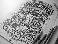 A Collection Of Elegantly Hand-Lettered Slogans & Logotypes - DesignTAXI.com