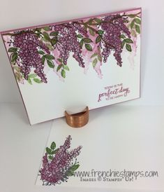 Lots of Lavender with Colorful Season - Frenchie's Stamps