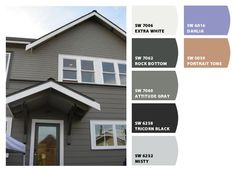 Chip It! By Sherwin Williams U2013 ChipCard By Ruth L. Exterior Color ...
