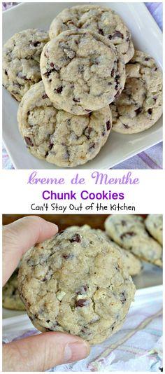 Creme de menthe cookie recipes