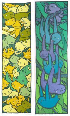 Cats vs Sloths at The Bird Machine