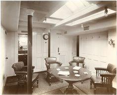 Lusitania - Officers' smoking room