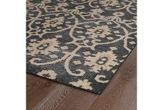 Akira Rug, Charcoal/Brown | All Dolled Up | One Kings Lane