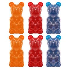 Gummy Bear 6 Pack Flavors Mix