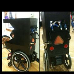 --Wheelchair Halloween Costume--           -- Amish Buggy --