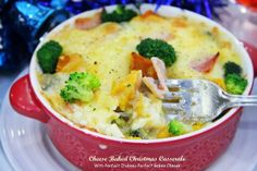 Cuisine Paradise | Singapore Food Blog | Recipes, Reviews And Travel: Festive Brunch Menu Using Perfect Italiano Cheese - Cheese Baked Christmas Casserole with Perfect Bakes Cheese
