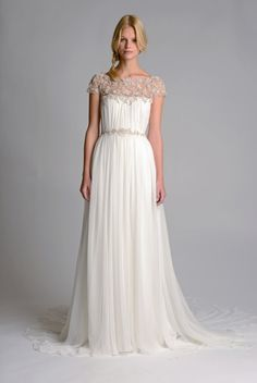One very stunning dress from Marchesa's Bridal 2014 collection.