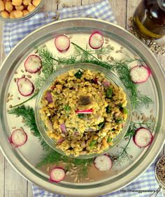 Chickpea spread salad:so yummy and healthy!
