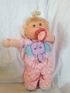 Cabbage Patch Kids Modern Play Along Babies Pacifier Pink