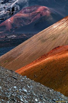 Haleakala Cinder Cones  If you're traveling to Maui.... make sure you see this.  Awesome!