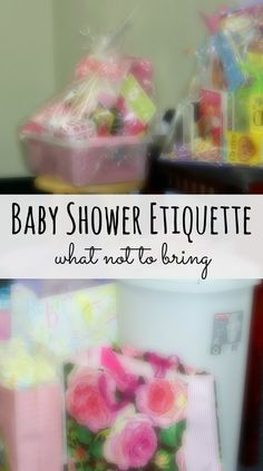 If you are going to a baby shower make sure you read over these great tips on baby shower etiquette!