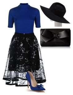 """""""Sunday brunch"""" by thehoffsx on Polyvore featuring Jaeger, Shoes of Prey, ALDO and Gladys Tamez Millinery"""