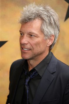 JBJ, you kill me. Still. Jon Bon Jovi Photos - 'Hamilton' Broadway Opening Night - Arrivals And Curtain Call - Zimbio