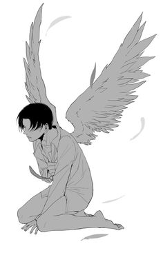 Rivaille (Levi) /I finally gained my Wings of Freedom\