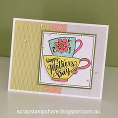 Scrap Stamp Share: Tea-rrific- CTMH Stamp of the Month Blog Hop
