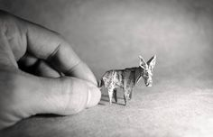 Artist Skillfully Folds Single Sheets of Paper Into Expressive Origami Animals - My Modern Met
