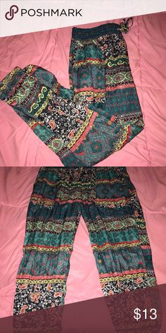 Moroccan Pants! These are Moroccan style pants. They have cuff at the bottom, that fits around your ankles! Wet Seal Pants Ankle & Cropped