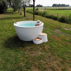 Ducktub Kopp | Kunststof design hottub | Welvaere.nl