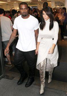 Kim Kardashian, Kanye West, Kimye