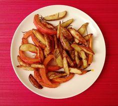 Pumpkin Chips and Rosemary Potatos