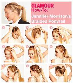 Exactly how to get Jennifer Morrisons cool braided do#Repin By:Pinterest++ for iPad#