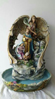 Christmas Nativity, Christmas Time, Night On Earth, O Holy Night, Wooden House, Atrium, Homemade Christmas, Valencia, Holi