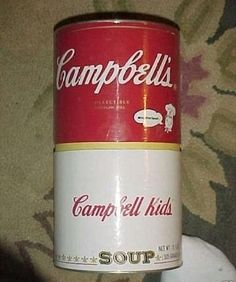Campbell's Kids Soup Can