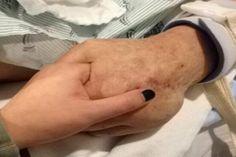 A lány haldokló nagyapja mellett ül a kórházban, amikor kinyílik az ajtó. És besétál rajta a CSODA! (Szem nem marad szárazon!) Lany, Marvel