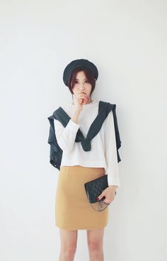 Simple korean street fashion ♥