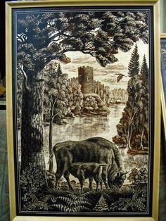 Moose Art, Painting, Animals, Animales, Animaux, Painting Art, Paintings, Animal, Animais